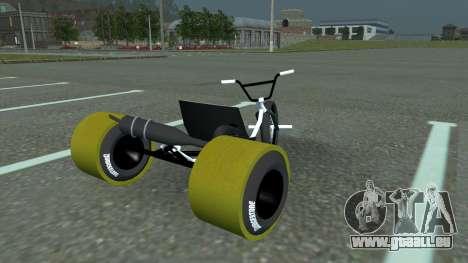 Drift Trike pour GTA San Andreas laissé vue