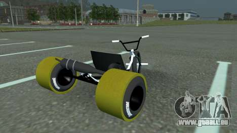 Drift Trike für GTA San Andreas linke Ansicht