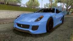 Ferrari GTO 599XX für GTA San Andreas