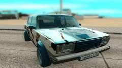 VAZ 2107 blanc pour GTA San Andreas