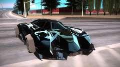 Lamborghini Égoïste чёрный pour GTA San Andreas