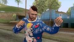Christmas GTA Online Skin für GTA San Andreas