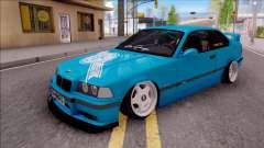 BMW 3-er E36 Blue 4.0i für GTA San Andreas