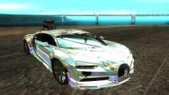 Bugatti Chiron белый für GTA San Andreas