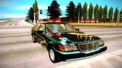 Mercedes-Benz W140 600SEL für GTA San Andreas