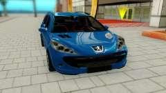 Peugeot 207 für GTA San Andreas