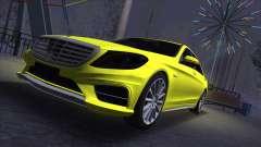 Mercedes-Benz S-class W222 pour GTA San Andreas