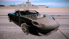Ruf RK Spyder pour GTA San Andreas