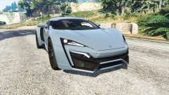 W Motors Lykan HyperSport 2014 v1.3 [replace]