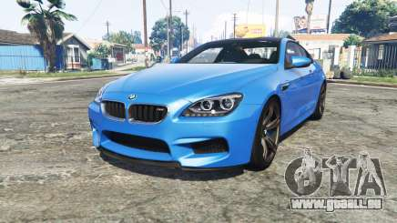 BMW M6 Coupe (F13) [add-on] pour GTA 5