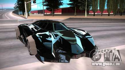 Lamborghini Selfish чёрный für GTA San Andreas