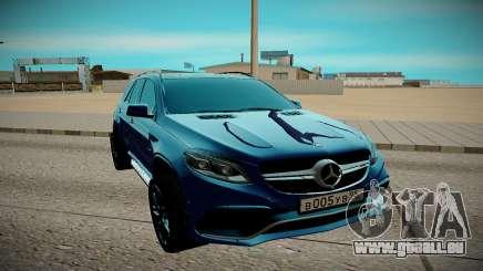 Mercedes-Benz Gl 63 AMG pour GTA San Andreas