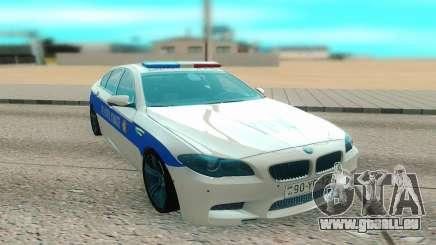 BMW M5 F10 blanc pour GTA San Andreas
