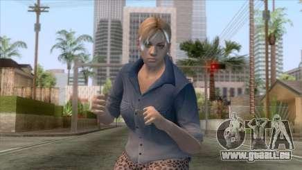 Jill Casual Skin v4 für GTA San Andreas