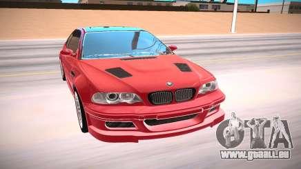 BMW E46 M3 GTR pour GTA San Andreas