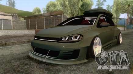 Volkswagen Golf R Pandem Rocket Bunny 2014 pour GTA San Andreas