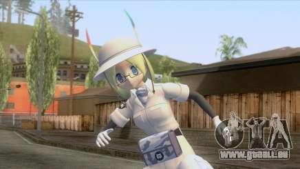 Kemono Friends - Mirai Skin für GTA San Andreas