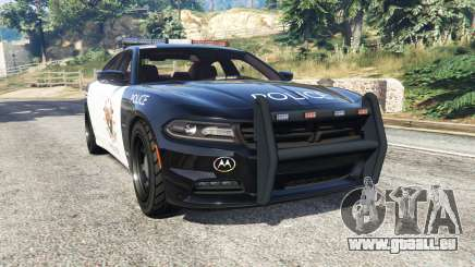 Dodge Charger RT 2015 LSPD [replace] pour GTA 5