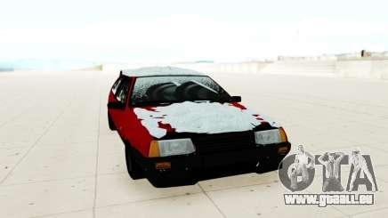 VAZ 2108 rouge pour GTA San Andreas