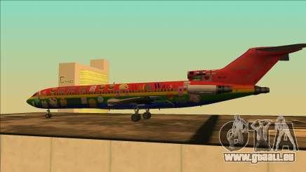 Boeing 727-200 Waifu Guerres D'Édition pour GTA San Andreas