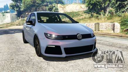 Volkswagen Golf R Mk6 [replace] für GTA 5