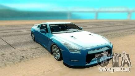 Nissan GTR R35 für GTA San Andreas