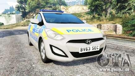 Hyundai i30 (GD) metropolitan police [replace] pour GTA 5
