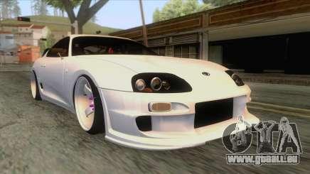 Toyota Supra Tuning pour GTA San Andreas
