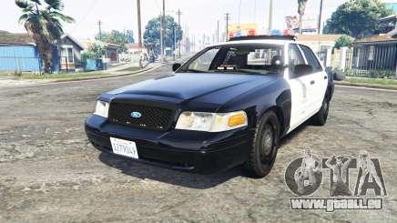 Ford Crown Victoria Los Santos Police [replace] für GTA 5
