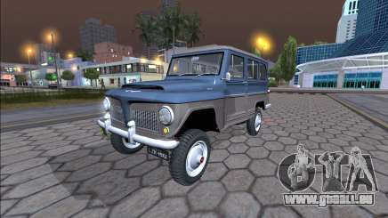 Jeep Rural Willys 1961 - Version Brésilienne pour GTA San Andreas