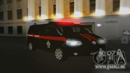 Volkswagen Transporteur T5 Comité D'Enquête pour GTA San Andreas