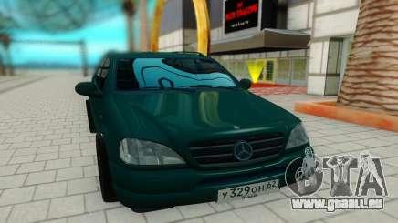 Mersedes-Benz ML 230 pour GTA San Andreas