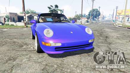 Porsche 911 Carrera RS (993) 1995 v1.2 [replace] für GTA 5