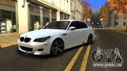 BMW M5 E60 Full Tunable pour GTA San Andreas
