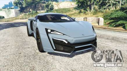 W Motors Lykan HyperSport 2014 v1.3 [replace] für GTA 5