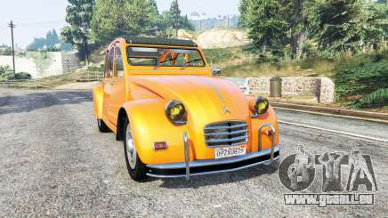 Citroen 2CV v1.2 [replace] für GTA 5