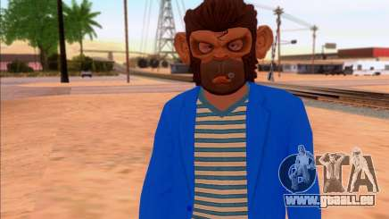 Monkey Mask pour GTA San Andreas