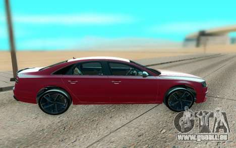 Audi S8 TMT für GTA San Andreas linke Ansicht
