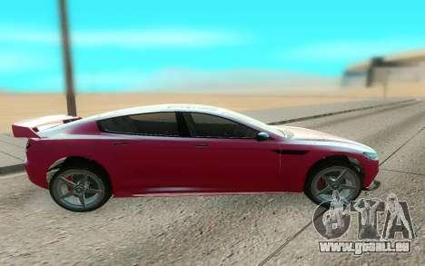 GTA V Coil Raiden pour GTA San Andreas laissé vue