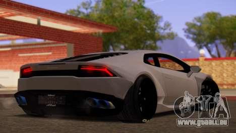 Lamborghini Huracan Pamdem Kit für GTA San Andreas