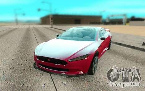 GTA V Coil Raiden pour GTA San Andreas vue de droite