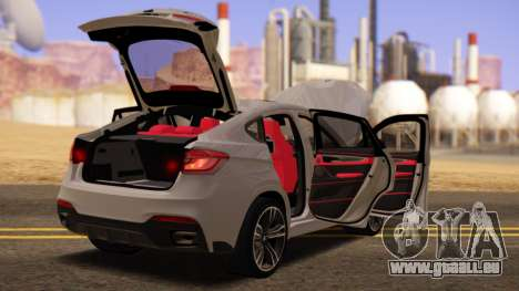BMW X6 50D pour GTA San Andreas vue de droite