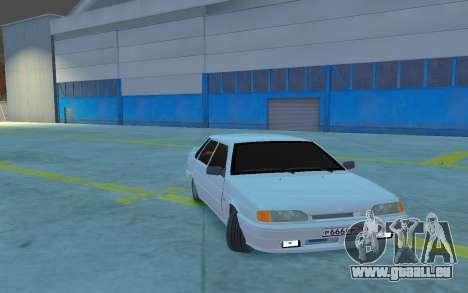 2115 Version stock pour GTA 4 Vue arrière de la gauche