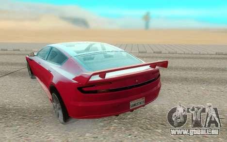 GTA V Coil Raiden pour GTA San Andreas vue arrière