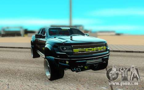 Ford 150 Raptor 2012 pour GTA San Andreas