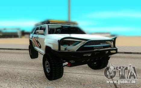 Toyota FJ Cruiser 4 Runner pour GTA San Andreas