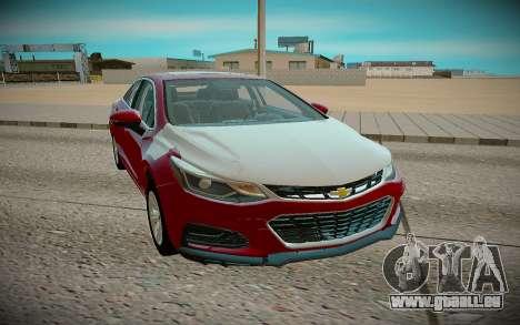 Chevrolet Cruze 2018 für GTA San Andreas