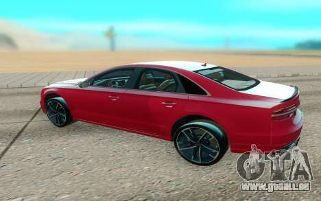 Audi S8 TMT für GTA San Andreas rechten Ansicht