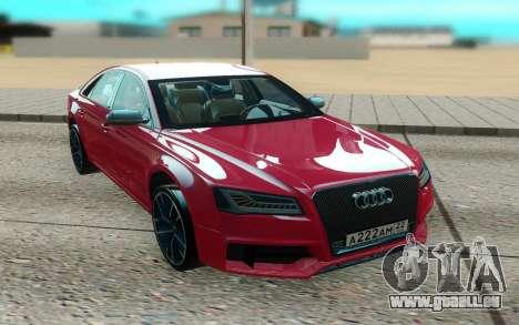Audi S8 TMT für GTA San Andreas