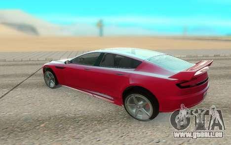 GTA V Coil Raiden pour GTA San Andreas sur la vue arrière gauche